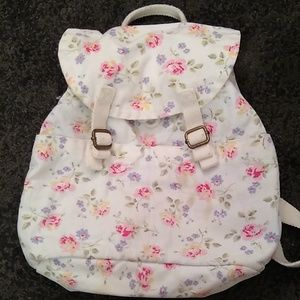 Cath Kids Flowery Backpack
